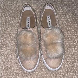 Steve Madden Pom Sneakers